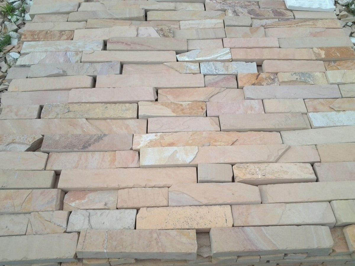 Piedra laja de cantera para fachada cascada salmon en mercado libre - Precio de piedra para fachada ...