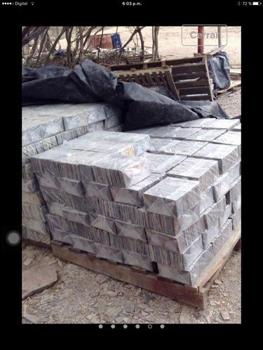 piedra laja formateada beigue tigresa formato 5x10 oferta