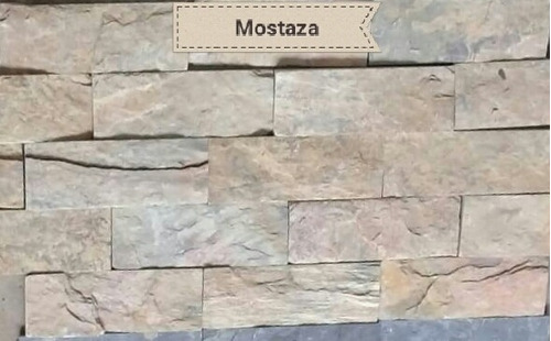 piedra laja formateada tipo tablilla