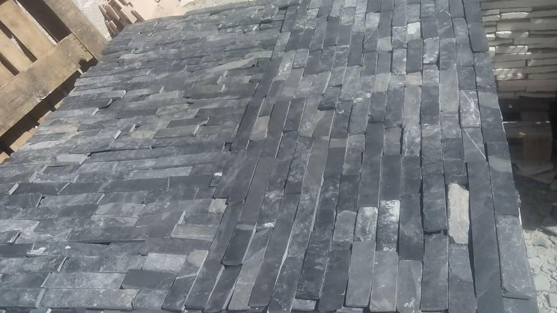 Piedra Laja Natural Para Fachada Pizarra 200 00 En Mercado Libre