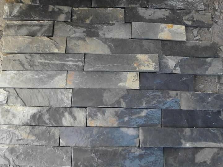 Piedra laja natural para fachada pizarra en mercado libre - Piedra natural para fachadas ...