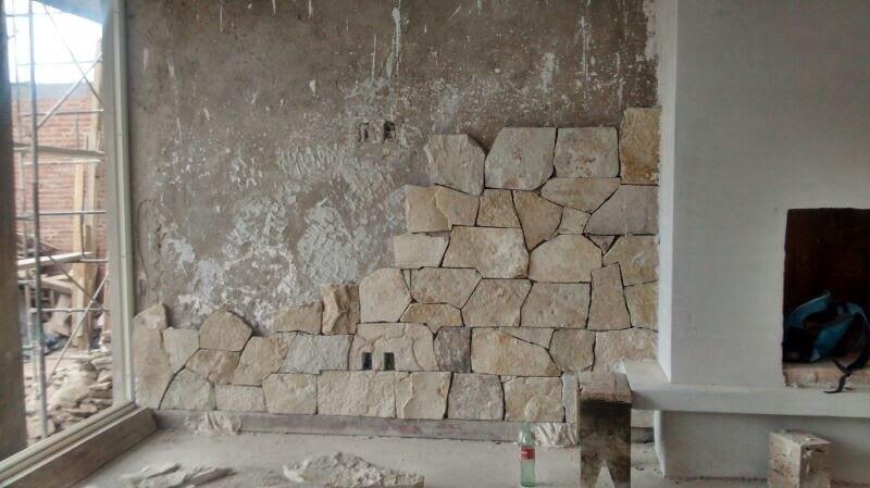 Piedra laja para fachada exteriores e interiores en mercado libre - Piedra para exterior ...