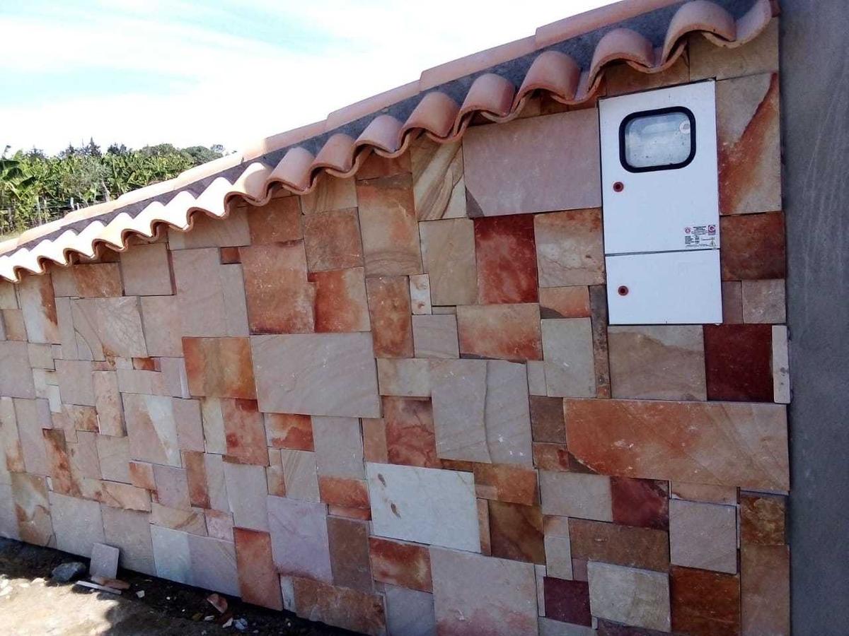 piedra laja rústica para enchapes y pisos