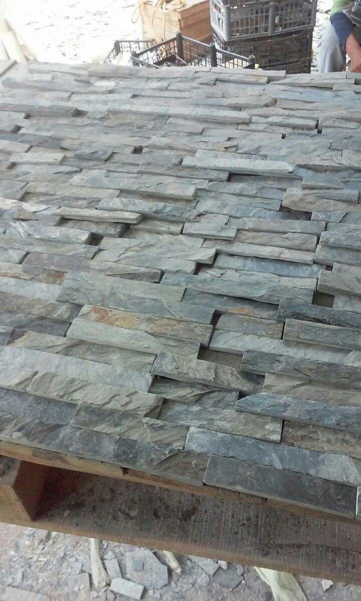 Piedra laja sintilla para fachada 5cm y3 en - Piedra natural para fachadas ...