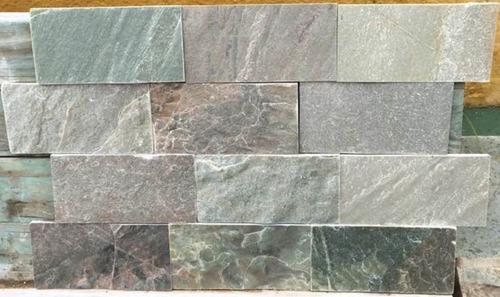 piedra laja verde 10 x 20 cm revestimiento o piso