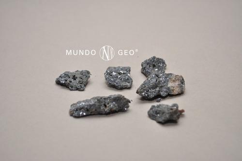 piedra mineral galena en bruto