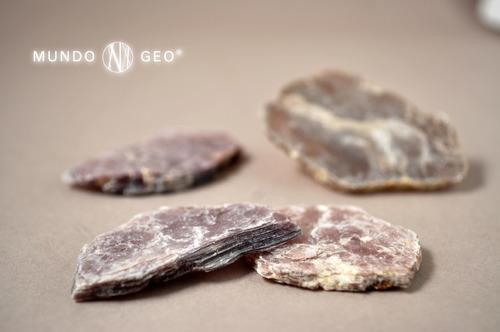 piedra mineral lajas de lepidolita nro. 1