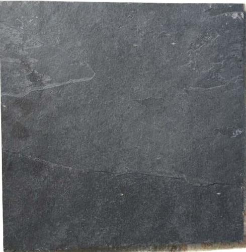 piedra natural ardosia pizarra negra 30 x 30 cm