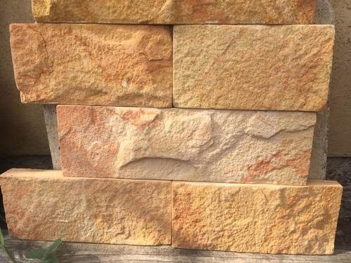 piedra natural arenisca 10 cm x largos variables revestimien