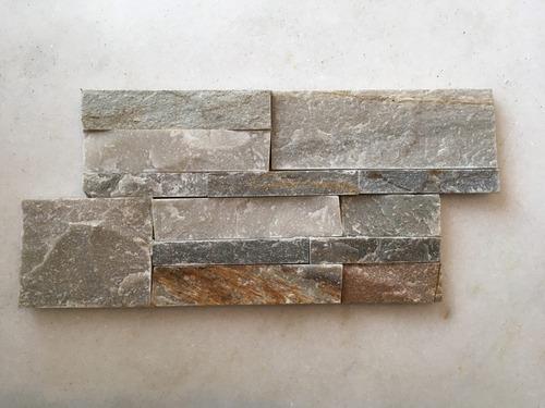piedra natural en paneles encastrables revestimiento