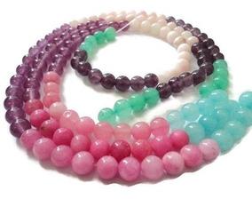 3054ad1e6e54 Piedra Natural Jade Candy Bisutería Fina Pulsera 8mm Mod2