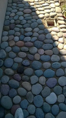 piedra natural tejo plato rio x 25 kg seleccionada calidad
