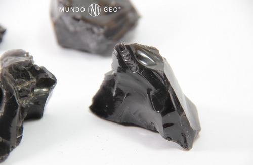 piedra obsidiana en bruto nro. 6