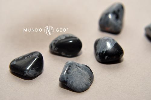piedra obsidiana nevada rolada nro. 1