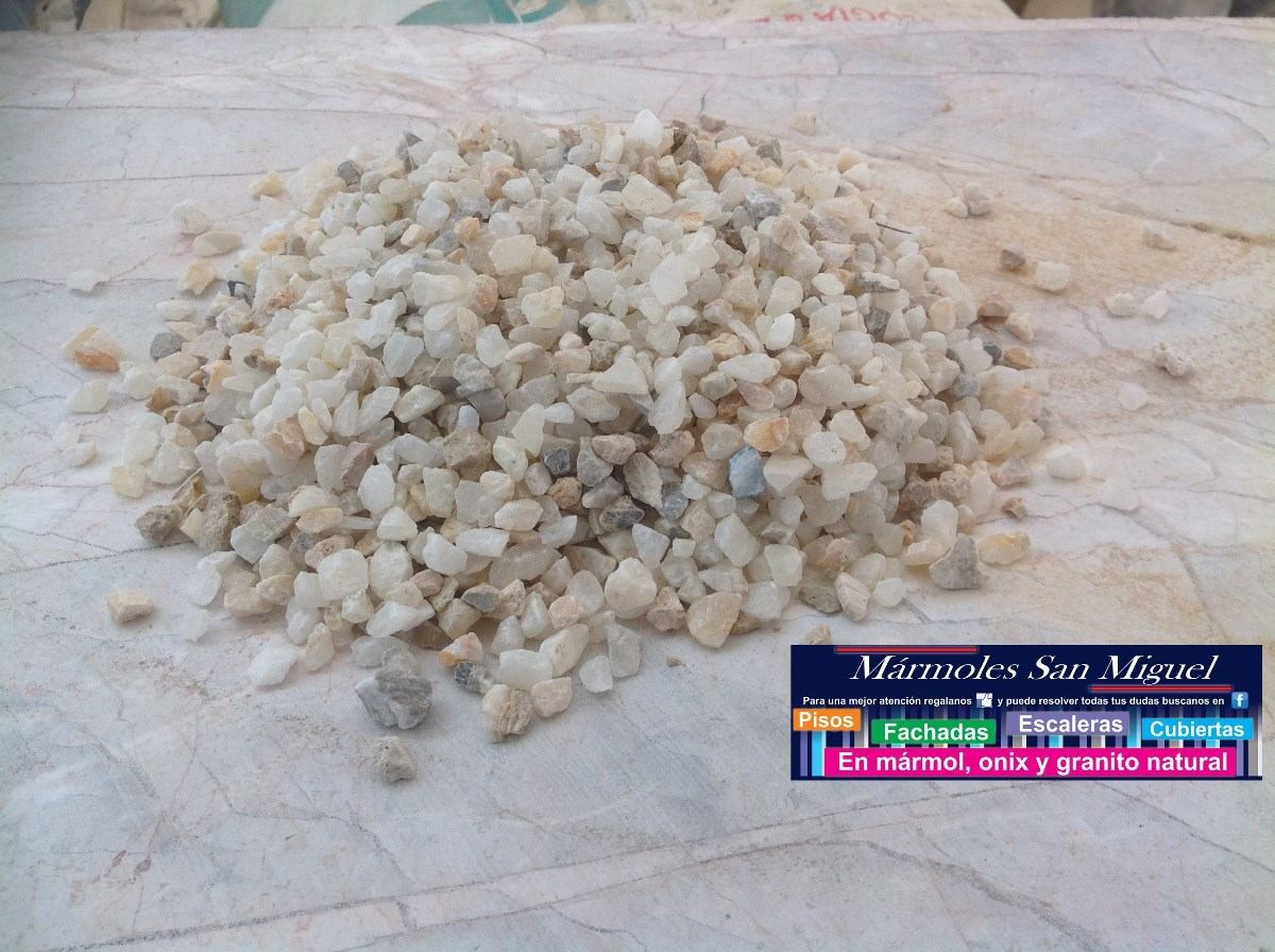 Piedra para decoracion y concreto lavado en for Piedras decorativas jardin ikea
