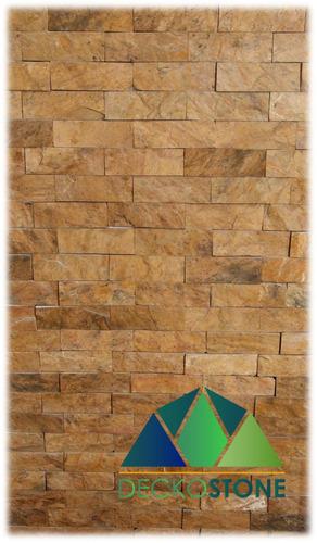 piedra pizarra natural tipa laja formateada (mostaza)