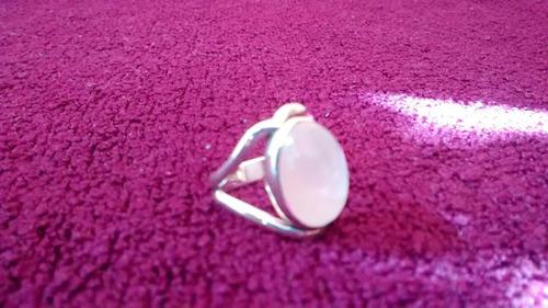 piedra plata anillo