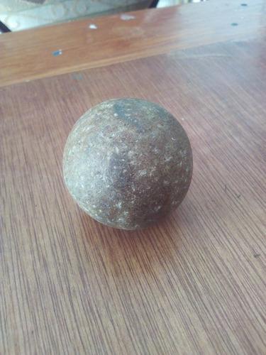 piedra redonda 100% tallada a mano modelo casero