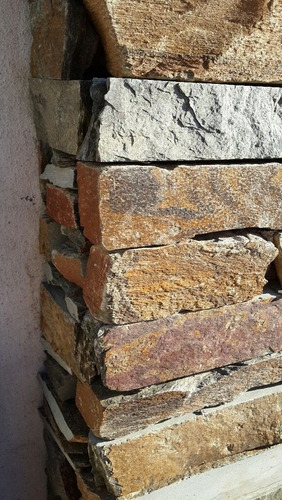 piedra revestimiento murete taco san luis ocre