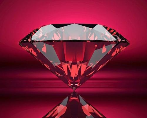 piedra sintética rubí oval roja tamaño 10x12
