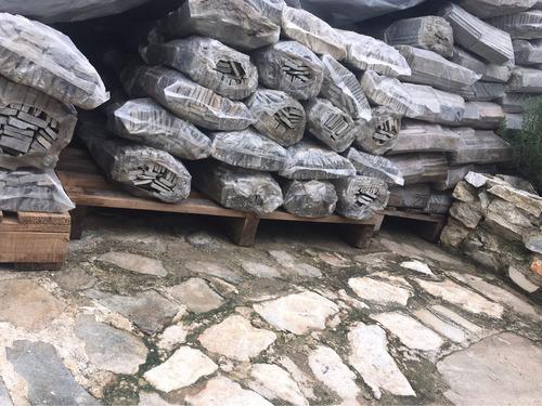 piedra spacatto lima plata para revestir paredes