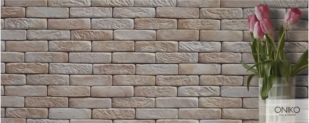 Piedra tabique huatulco muros fachadas recubrimientos en mercado libre - Recubrimientos de piedra ...