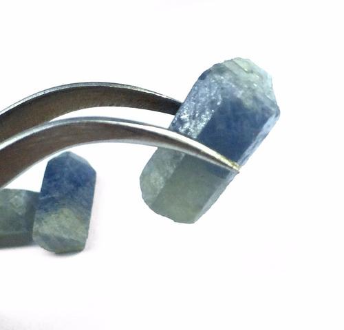 piedra zafiro en bruto 100% natural de mina corindon +7ct