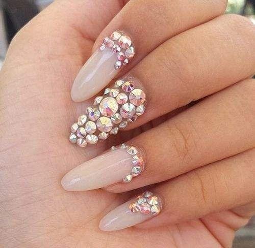 piedras cristal tornasol  8 tamaños  para decoracion de uñas