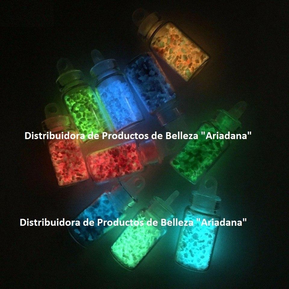 Piedras Cristales Brillan En La Oscuridad Decoracion De Uñas ...