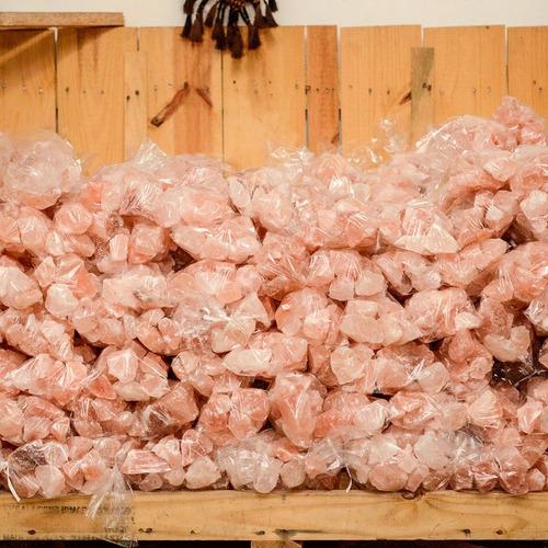 piedras de sal del himalaya en trozos x 10 kg