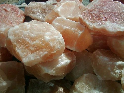 piedras de sal grandes para lamparas de sal, precio x  10 kg