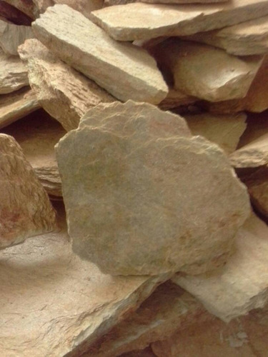 piedras  decorativas lajas , arena cernida, lavada etc...