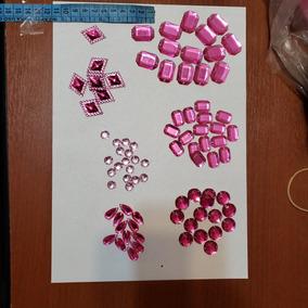 Piedras Gemas Acrilicas Para Bordar O Pegar Combo X 300 Uni