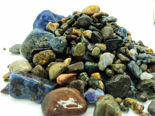 piedras grava p/ acuarios de la patagonia x 10 kg