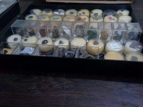 piedras minerales colección