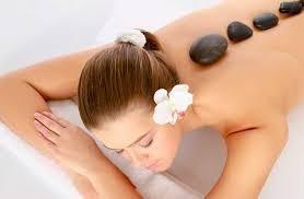 piedras negras de mar, masajes , decoración