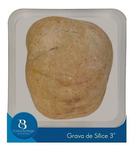 piedras para jardin  no. 3 pulgadas x 25 kg