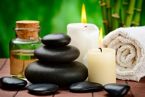 piedras para masajes + instructivo de uso