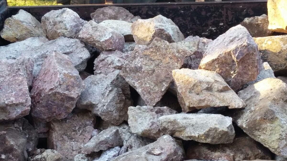 piedras rusticas granito beige 800 00 en mercado libre On piedra de granito precio