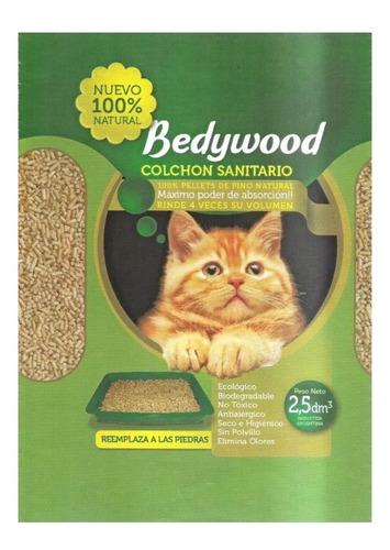 piedras sanitarias de pino bedywood 100%ecológicas 6 unidade