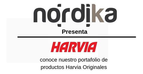 piedras sauna estufa calentador  harvia - nordika