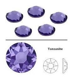 piedras strass con gomma ss16/4mm tanzanite 144 piedras
