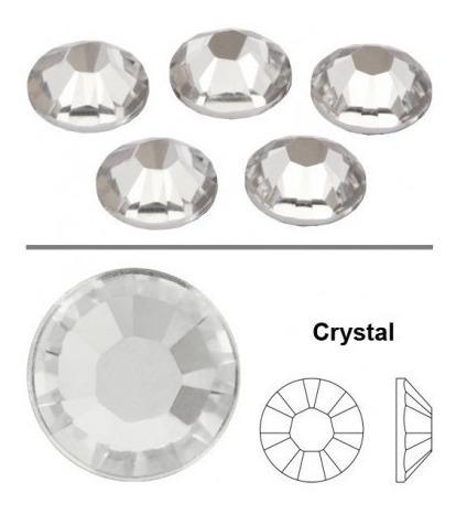 piedras strass nails - uñas crystal aprox 1440