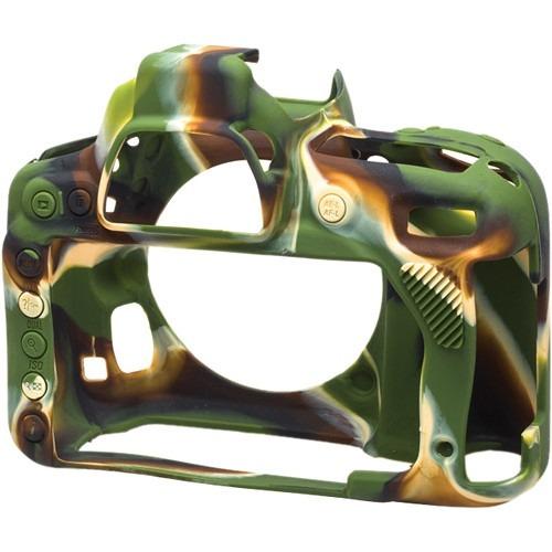 piel de silicona easycover nikon d750 camuflaje   12c