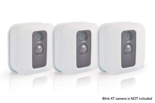 piel de silicona para cámara de seguridad xt parpadear (3