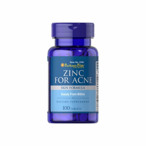 piel grasa, cero acne zinc for acne alta potencia x100cap