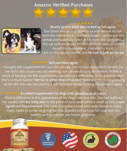 9f3d5c5f2 Piel Y Suplemento De Capa Para Perros Y Gatos - Aceite De ...