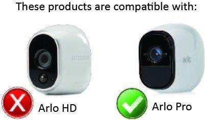 pieles de silicona para arlo pro100% sin cables cámaras