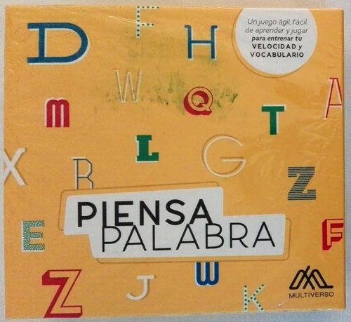 piensa palabra estimula velocidad y vocabulario didactikids