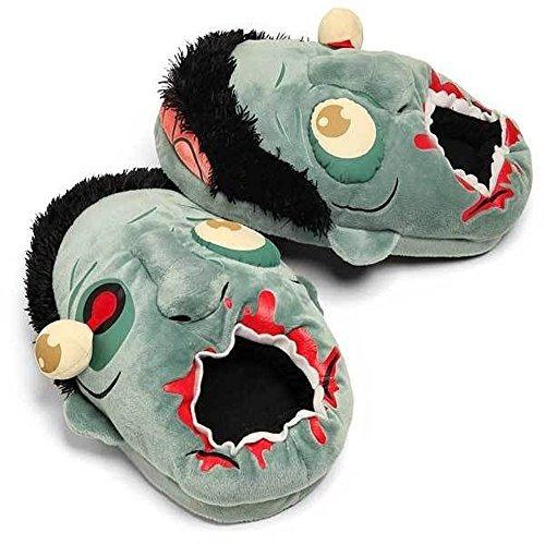 piense geek tgea01 pantuflas zombie plush